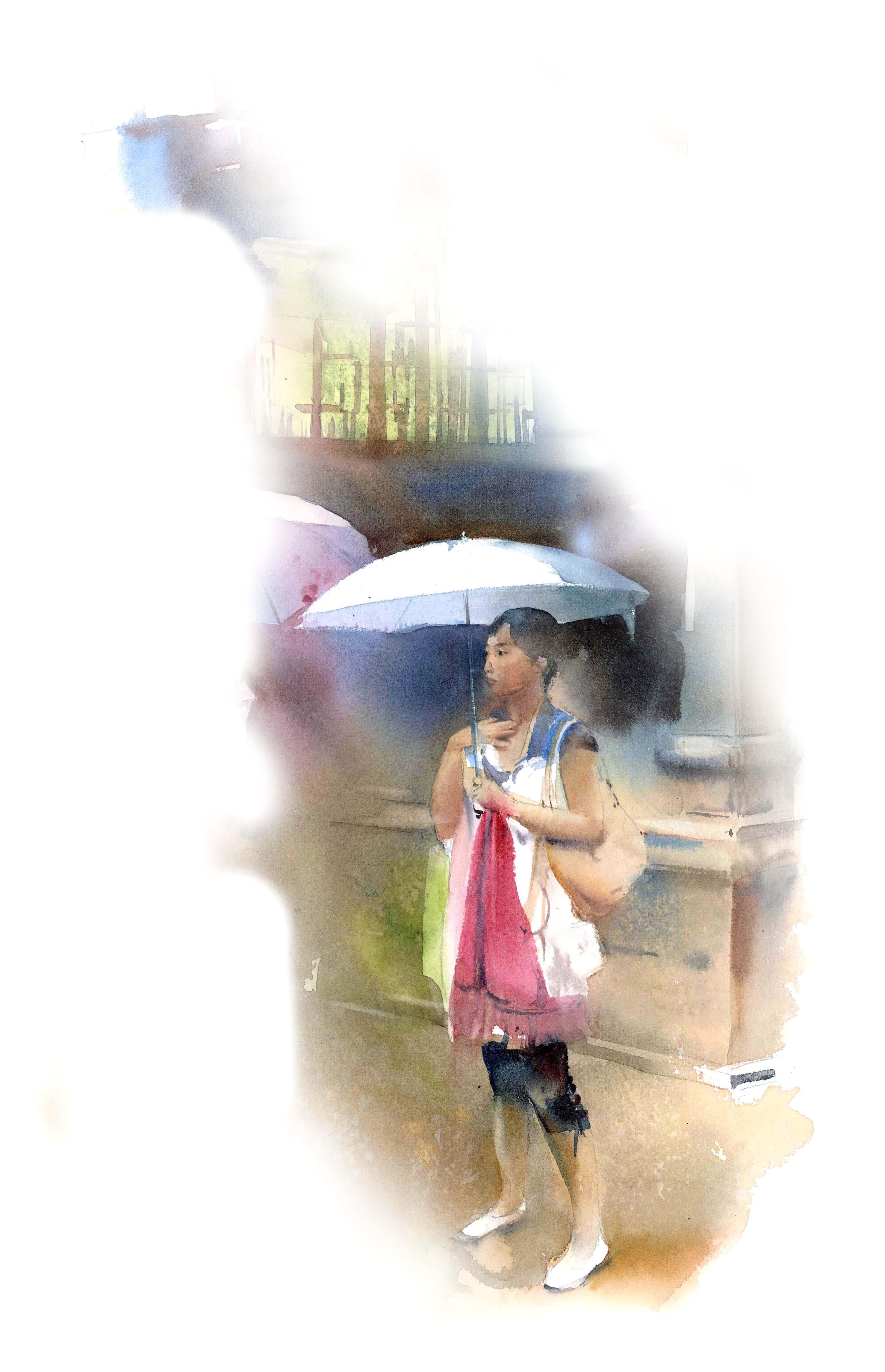 au jadin de Yuyuan à Shangaï